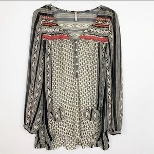 Free People Feather in The Wind Tunic Sz M
